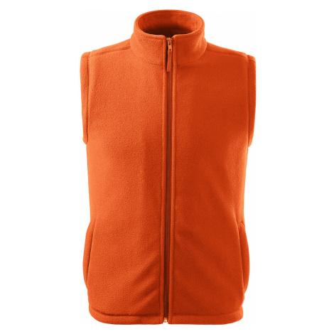 RIMECK Next Unisex fleece vesta 51811 oranžová