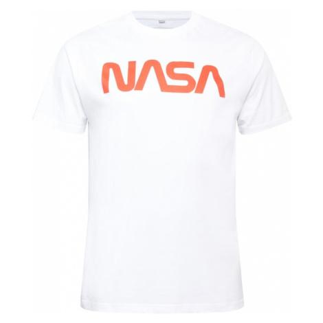 Mister Tee Tričko 'NASA' bílá