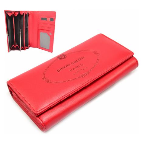 Velká dámská peněženka růžová Pierre Cardin