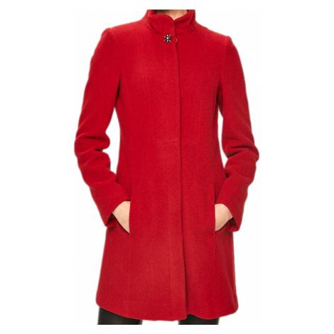 Červený vlněný kabát - LIU JO
