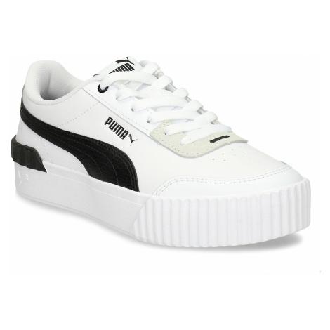Bílé dámské tenisky s černými prvky Puma