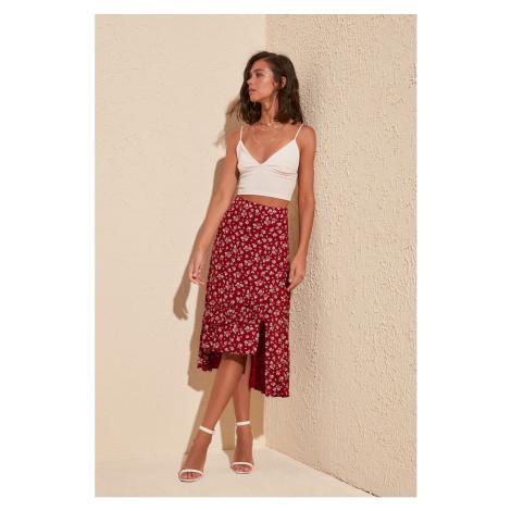 Dámská sukně Trendyol Asymmetrical