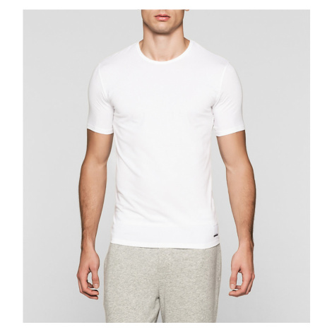 Calvin Klein CK Logo Trička 2 balení - bílá
