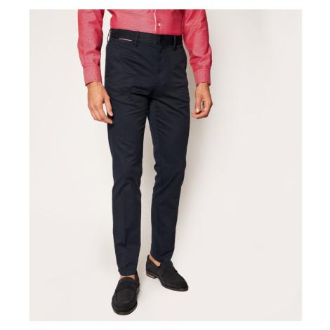 Tommy Hilfiger pánské modré kalhoty Denton TH Flex