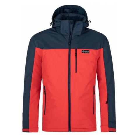 Pánská zimní bunda KILPI FLIP-M červená