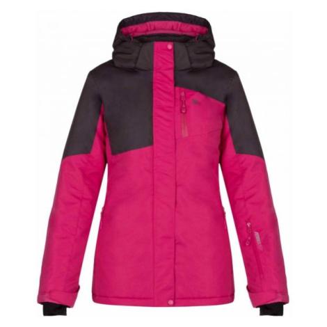 Loap LAKIA fialová - Dámská zimní bunda