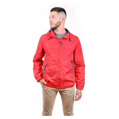 Pepe Jeans pánská červená tenká bunda Balos