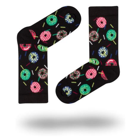 Dámské ponožky John Frank WJFLSFUN19-23 Černá