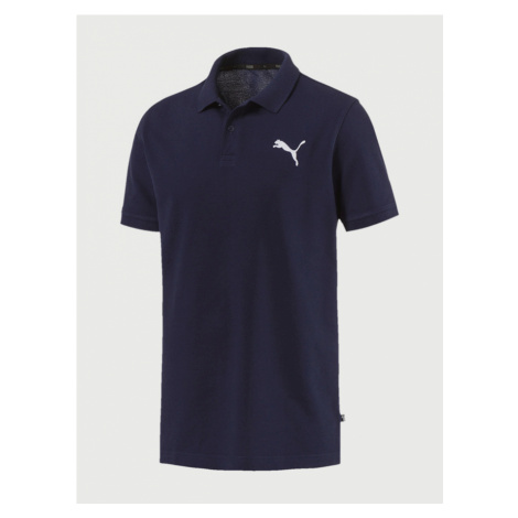 Tričko Puma Essentials Pique Polo Modrá