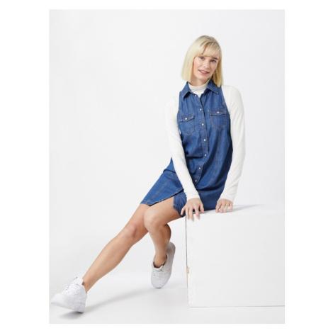 Pepe Jeans Košilové šaty 'JESS' modrá džínovina