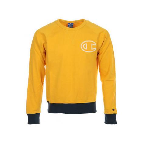 Champion Crewneck Sweatshirt Žlutá