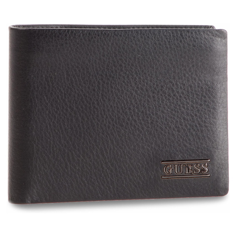 Velká pánská peněženka GUESS - New Boston Slg SM2510 LEA24 BLA