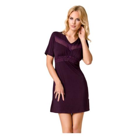 Luxusní dámská noční košile Viola fialová Passion