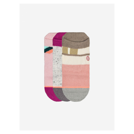 Bonny Box Ponožky 3 páry dětské Stance Růžová