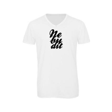 Pánské triko s výstřihem do V Nebudit