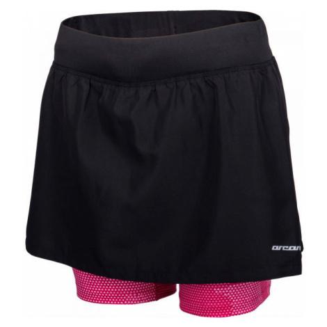 Arcore ARIANA černá - Dámské běžecké šortky se sukní