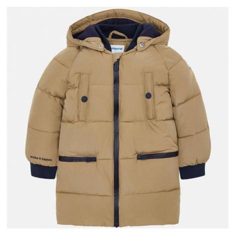 Zimní chlapecká bunda Mayoral 4446 | oříšková