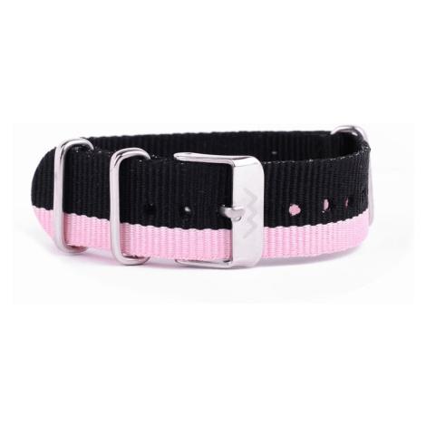 Silver Pink nylon strap VUCH