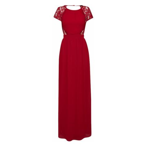 TFNC Společenské šaty 'PEARLIE MAXI' tmavě červená