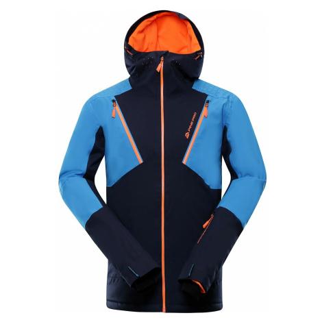 Pánská lyžařská bunda Alpine Pro MIKAER 3 - modro-černá