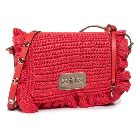 Červená háčkovaná kabelka - RED VALENTINO