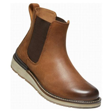 KEEN BAILEY CHELSEA W Dámská zimní obuv 10008833KEN01 cognac