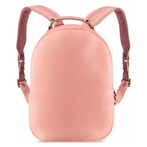 Bagind Maley Flamingo - Dámský kožený batoh růžový, ruční výroba, český design
