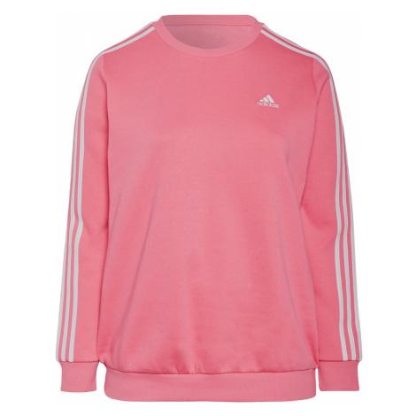 Adidas Essentials 3-Stripes Fleece Sweatshirt (Plus Size)
