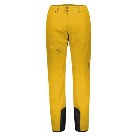pánské kalhoty SCOTT Pant M's Ultimate Dryo 10, corn yellow
