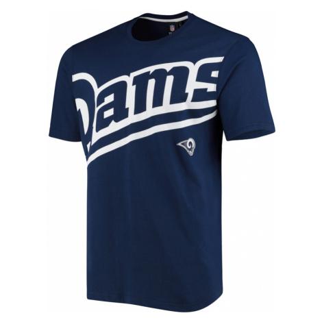 Pánské tričko Fanatics Oversized Split Print NFL Los Angeles Rams
