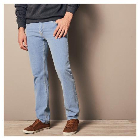 Blancheporte Speciální džíny pro větší bříško sepraná modrá