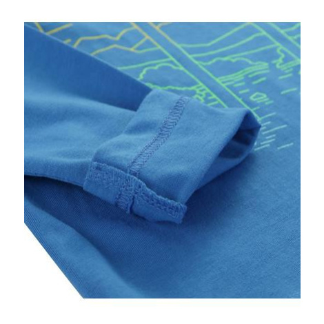 Dětské triko Alpine Pro DIDILO 3 - tmavě modrá