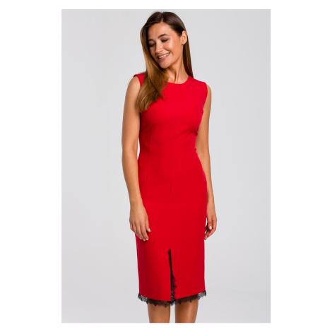 Červené šaty S190