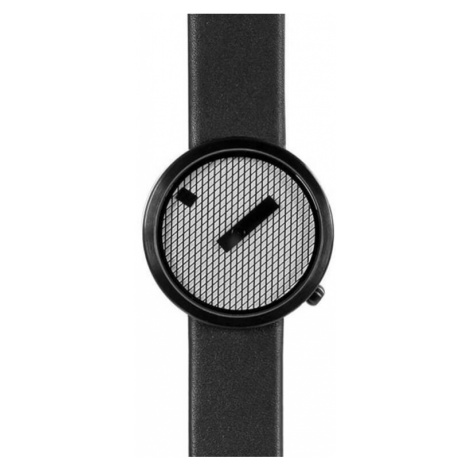 Nava Jacquard Black 39mm Leather