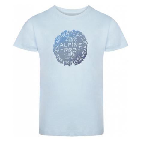 Dětské triko Alpine Pro SPORO 2 - světle modrá