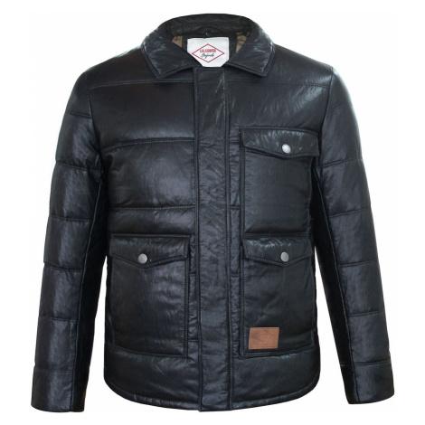 Lee Cooper PU Down Jacket Mens