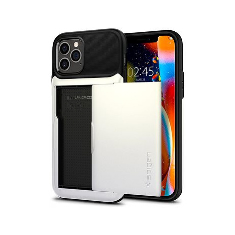 Spigen Slim Armor Wallet White iPhone 12/iPhone 12 Pro