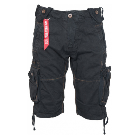 Alpha Industries Kalhoty krátké TERMINAL černé