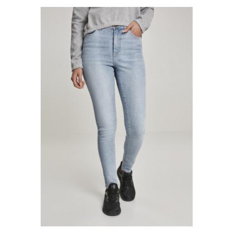 Urban Classics Ladies High Waist Skinny Jeans authentic blue wash