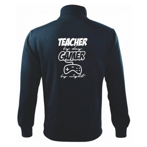 Teacher by Day Gamer by Night - Mikina bez kapuce Adventure