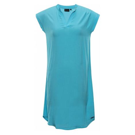 Dámské šaty Alpine Pro BERLIA - světle modrá