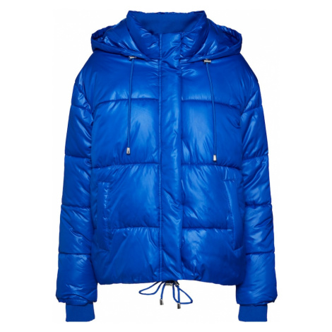Urban Classics Zimní bunda královská modrá
