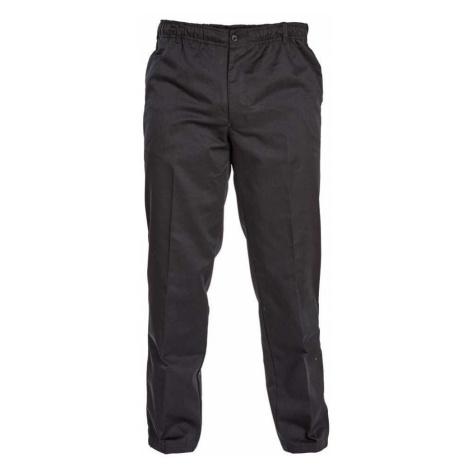 D555 kalhoty pánské BASILIO nadměrná velikost elastický pas délka regular