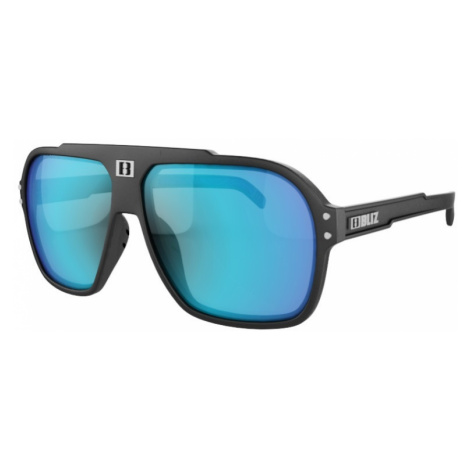 Sluneční brýle Bliz Targa černá s modrými skly
