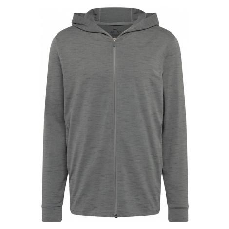 NIKE Sportovní bunda tmavě šedá