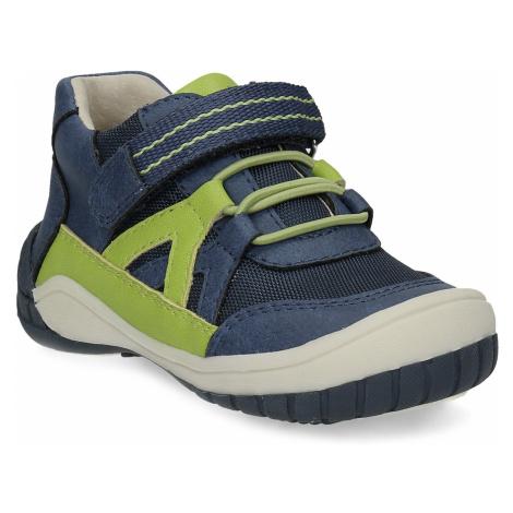 Modrá dětská kotníčková obuv Bubblegummers