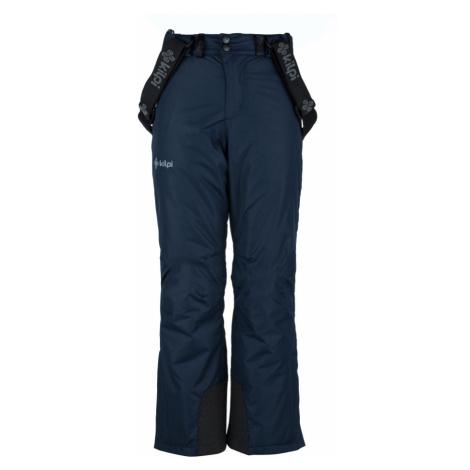 KILPI Chlapecké lyžařské kalhoty MIMAS-JB JJ0011KIDBL Tmavě modrá