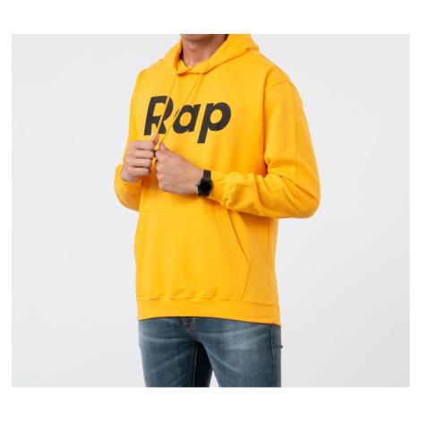RAP Hoodie Orange/ Black