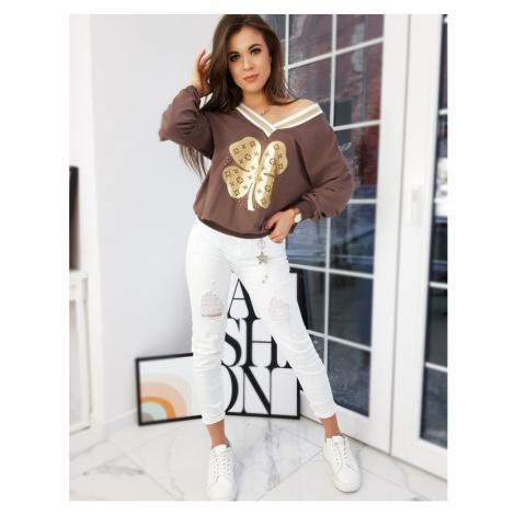 ALEXA women´s sweatshirt brown BY0735 DStreet