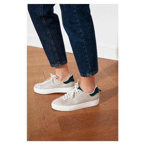 Trendyol Oil Suede Detailed Women's Sneaker